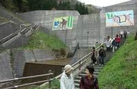 笠松峠の畳石路2