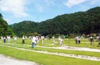 ほたる湯館グラウンド・ゴルフ場1